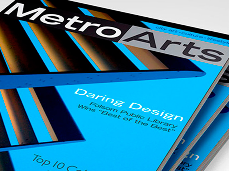 MetroArts Magazine Logo and Cover